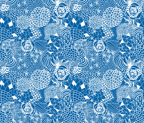 Daydream Doodle fabric by kimsa on Spoonflower - custom fabric