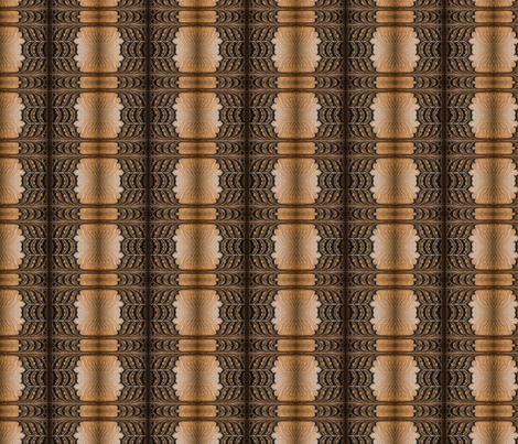 Wooden Door Symmetry fabric by galleryhakon on Spoonflower - custom fabric