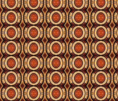Woven Circular Pattern fabric by galleryhakon on Spoonflower - custom fabric