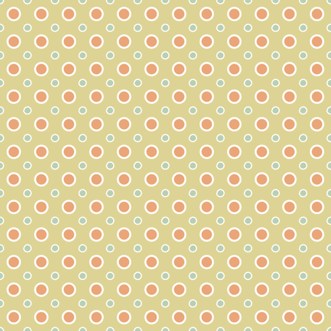 Vintage dots fabric by grafiketgrafok on Spoonflower - custom fabric