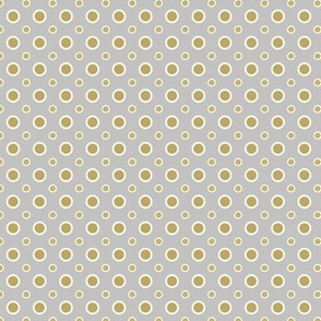 Gold and Silver dots
