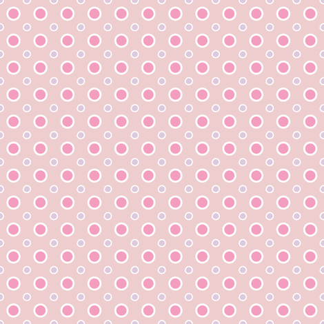 Pastels dots fabric by grafiketgrafok on Spoonflower - custom fabric