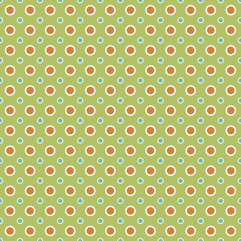 Alien dots fabric by grafiketgrafok on Spoonflower - custom fabric