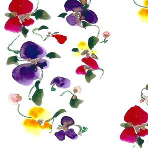 FLOWER VINE DESIGNED LARGER