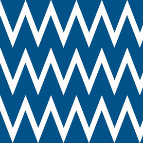 Tall Chevron Navy