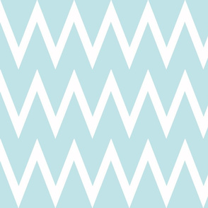 Tall Chevron Aqua