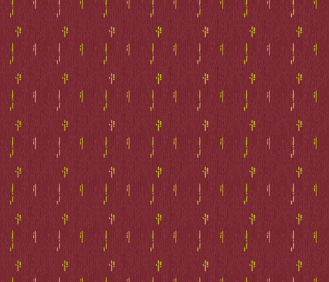 Linnea Cranberry fabric by spugnardidesign on Spoonflower - custom fabric
