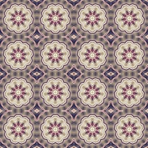 Digital Flower Pattern