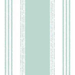 French Ticking in jade