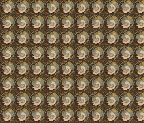 Partridge ©LLausen fabric by woolyredrug on Spoonflower - custom fabric