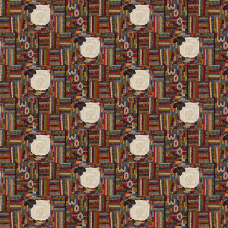 Sheep~Wool ©LLausen fabric by woolyredrug on Spoonflower - custom fabric