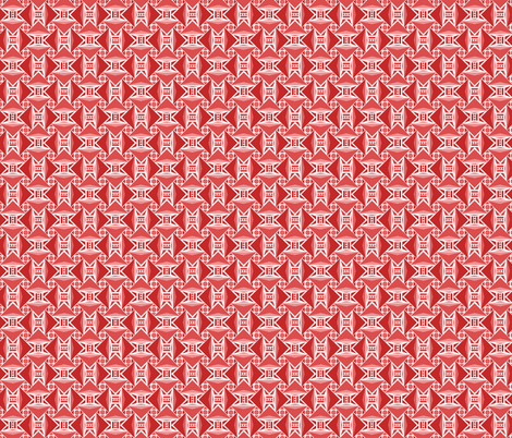 red arrows fabric by atomic_bloom on Spoonflower - custom fabric