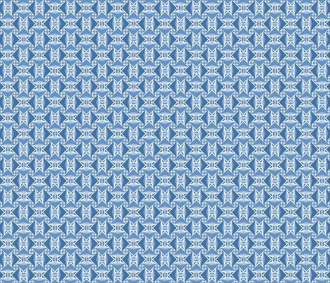 arrows BLUE fabric by atomic_bloom on Spoonflower - custom fabric