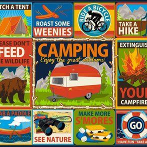 Camping Crests