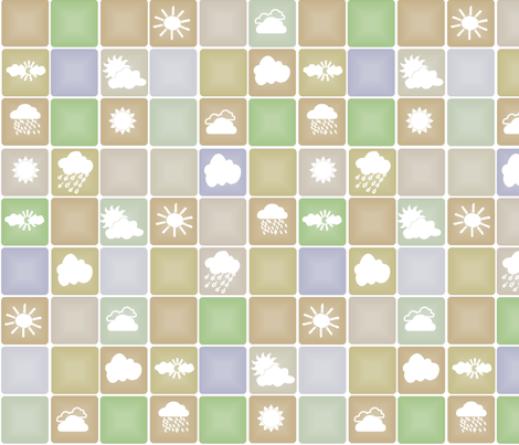 Weather fabric by wiccked on Spoonflower - custom fabric