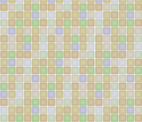 Checkerboard fabric by wiccked on Spoonflower - custom fabric