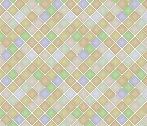 Diamonds fabric by wiccked on Spoonflower - custom fabric