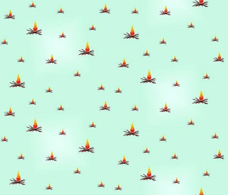 bonfire fabric by loneal on Spoonflower - custom fabric