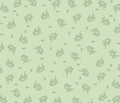 Seaweed fabric by featheralchemist on Spoonflower - custom fabric
