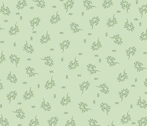 Seaweed fabric by featheralchemist on Spoonflower - custom fabric