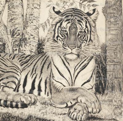 tigeretching