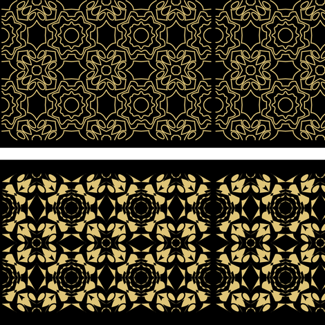 gold geometric fabric by rcm-designs on Spoonflower - custom fabric
