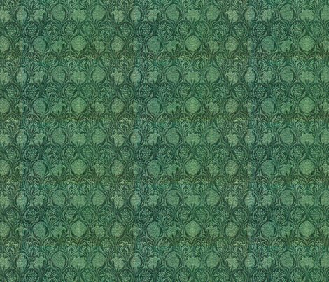 William Morris variation fabric by unseen_gallery_fabrics on Spoonflower - custom fabric