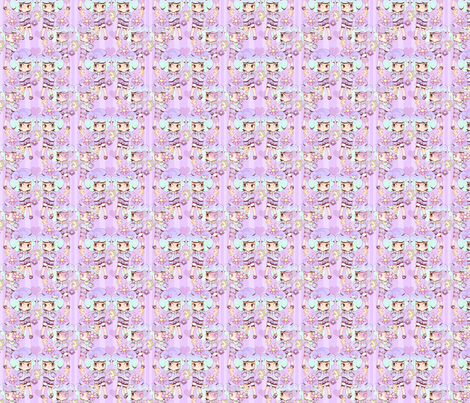 Bubblegum Cute fabric by buttercrumble on Spoonflower - custom fabric