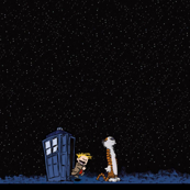 Calvin and Hobbs Meet the Doctor
