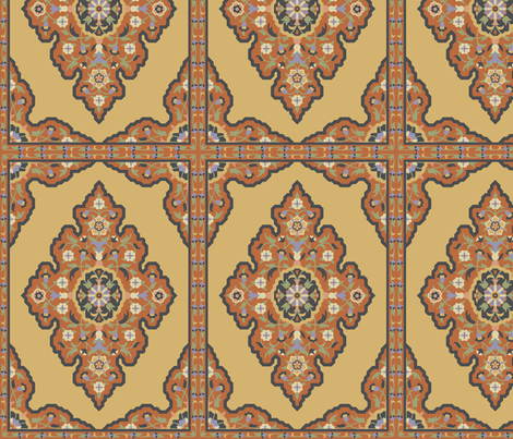 Serpentine 678a fabric by muhlenkott on Spoonflower - custom fabric