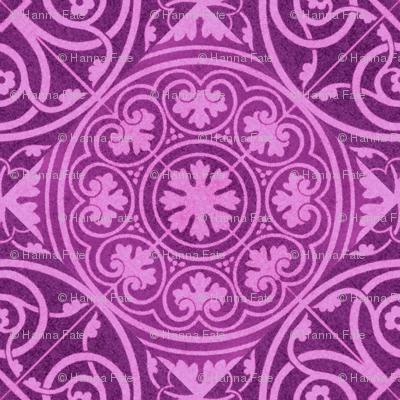 purple tile designs