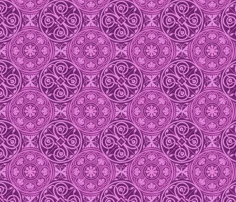 purple tile designs fabric by unseen_gallery_fabrics on Spoonflower - custom fabric