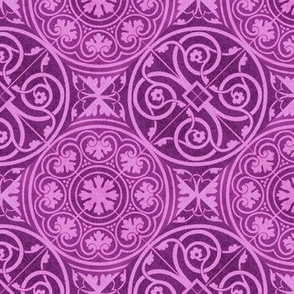 purple tile designs