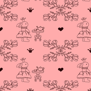 Bunny_princess_fabric