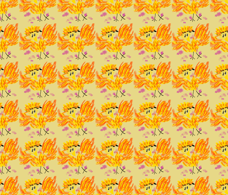 Let's Get Physical fabric by anniedeb on Spoonflower - custom fabric