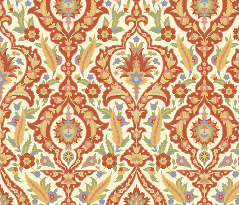 Serpentine 710 fabric by muhlenkott on Spoonflower - custom fabric