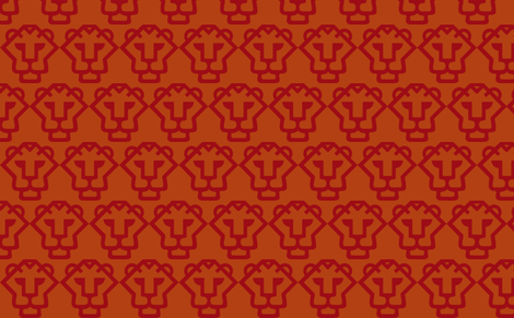red-orangetiger fabric by boxercox on Spoonflower - custom fabric