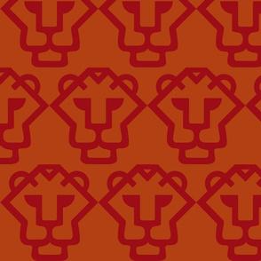 red-orangetiger