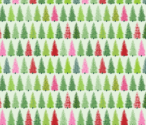 Fancy Forest fabric by ebygomm on Spoonflower - custom fabric