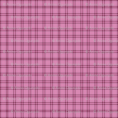 Rose_oval_box plaid