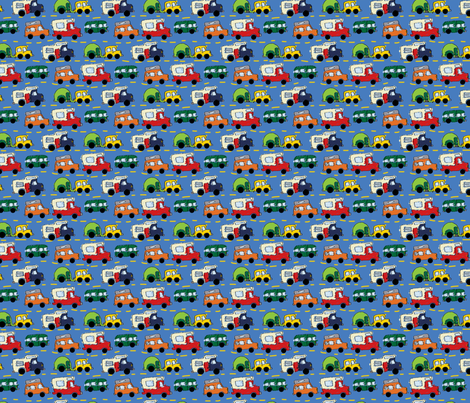 LaraGeorgine_Camping fabric by larageorgine on Spoonflower - custom fabric