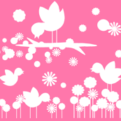 Pretty Birdie Silhouettes