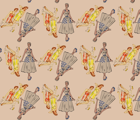 spoon-fashion-statement fabric by nalo_hopkinson on Spoonflower - custom fabric