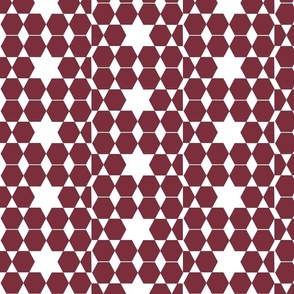 starpatternburgundy