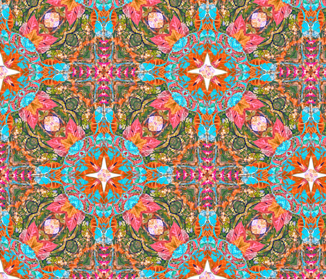 Chinese Garden II fabric by dana_zurzolo on Spoonflower - custom fabric