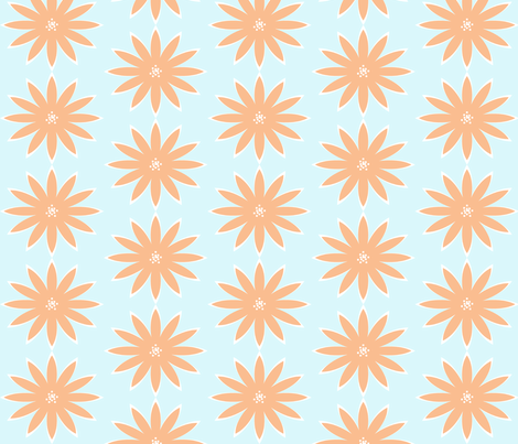 Dahlia- Glow fabric by allisajacobs on Spoonflower - custom fabric