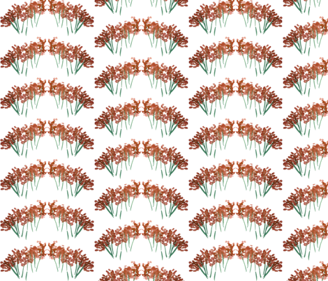 orangeflower fabric by sára_emami on Spoonflower - custom fabric