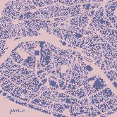 Paris in pink