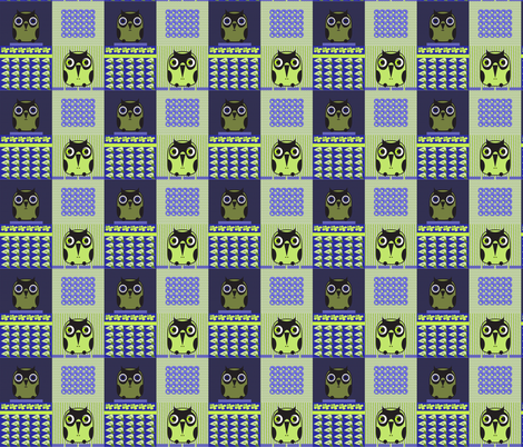 owls 4 fabric by isabella_asratyan on Spoonflower - custom fabric