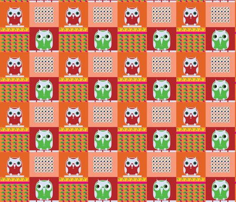 owls 7 fabric by isabella_asratyan on Spoonflower - custom fabric
